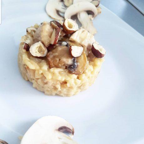 ☆ Risotto poulet champignon ☆